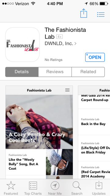 Fashionista Lab in the App Store
